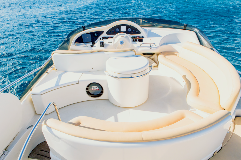 "Mykonos Yachting - Private & Luxury Yacht Charter - ""JennyZ"" - Azimut 46 Flybridge"
