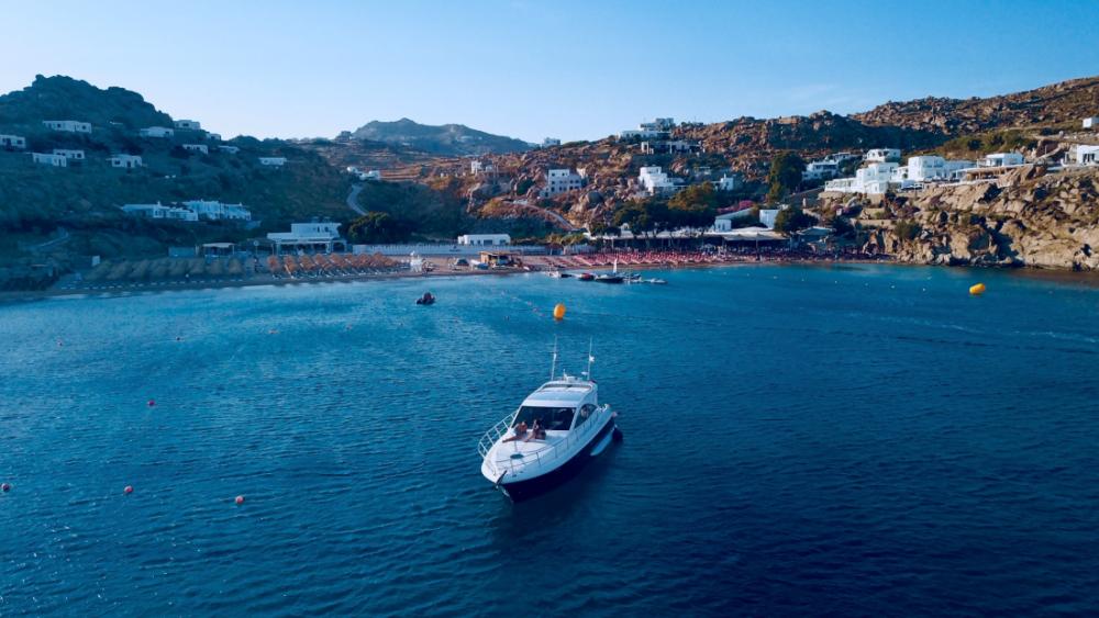 "Mykonos Yachting - Private & Luxury Yacht Charter-""Pathos"" - Dellapasqua DC13 Hardtop"