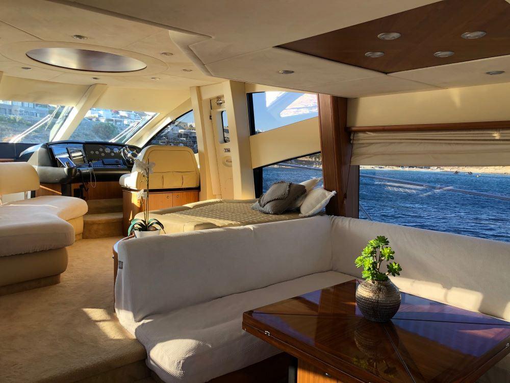 Mykonosyachting-Luxuty-Private-Yacht-Charter-Serenity-Sunseeker60-Flybridge-15
