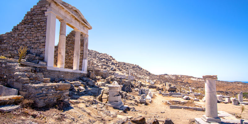 Mykonos History - Delos