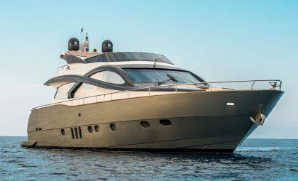 Mykonos Luxury Yacht Charter | Evo Marine Deauville 76 Flybridge