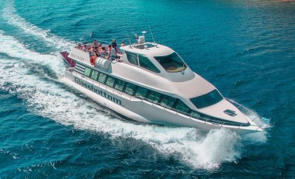 Discovery Glassbottom Yacht | Mykonos Private Boat Rental