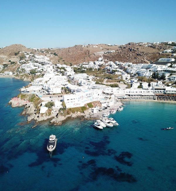 South Coast of Mykonos & Dragonisi - Private Day Cruise
