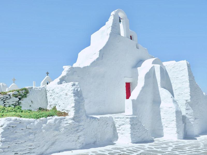 Mykonos History - Churches