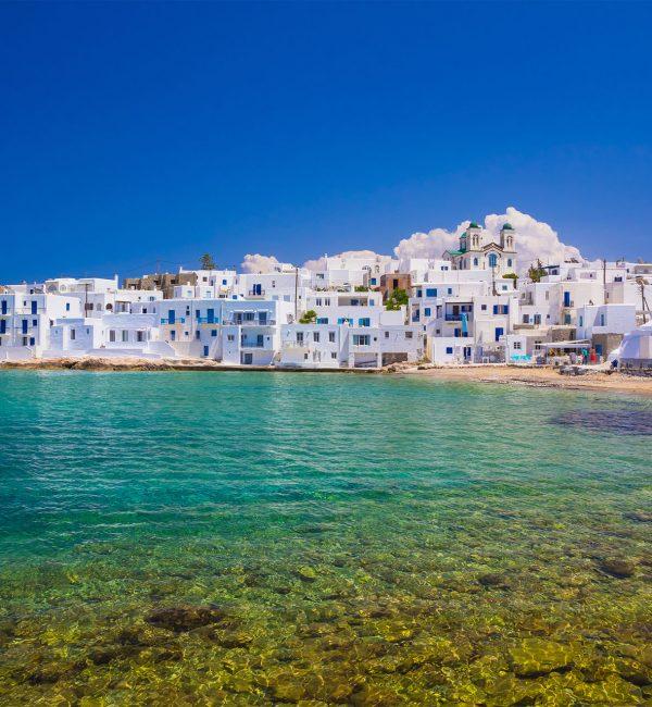 Mykonos - Paros Private Day Cruise | Luxury Yacht Charter