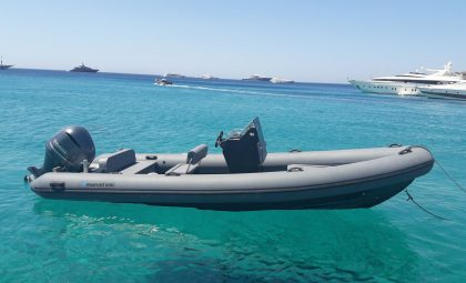 Marvel 690 Rigid Inflatable Boat | RIB private rental in Mykonos
