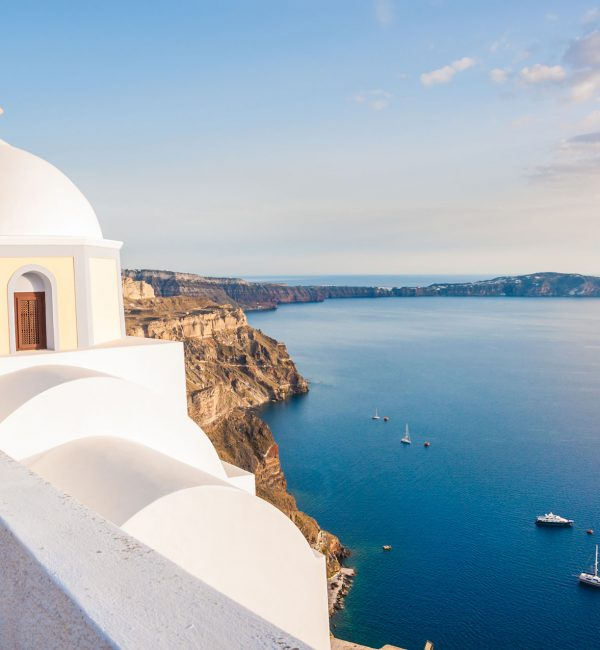 Mykonos - Santorini Private Day Cruise | Luxury Yacht Charter