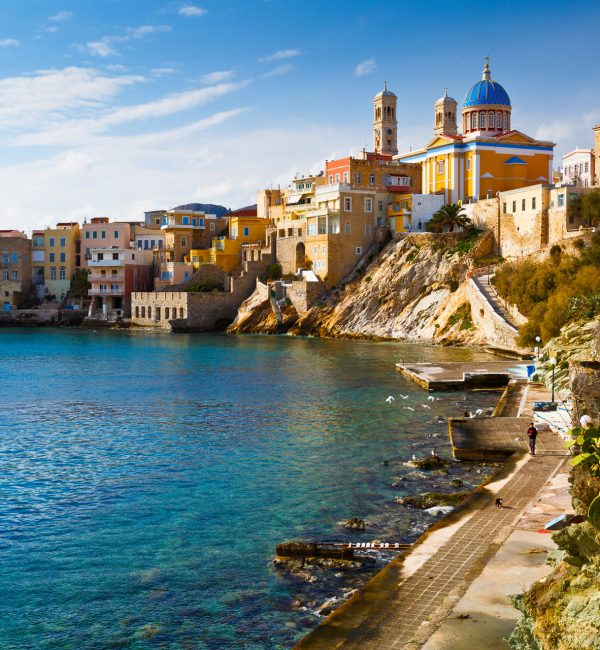 Mykonos - Syros Private Day Cruise | Luxury Yacht Charter